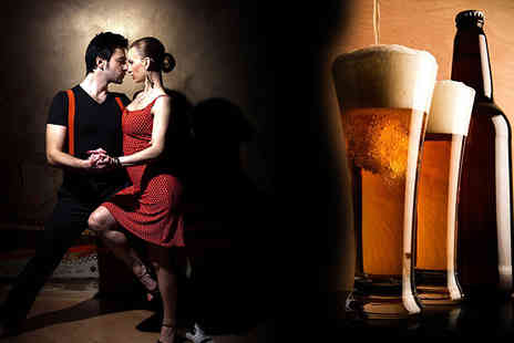London Diary - 12 Salsa Classes with 5 Bottles of Beer - Save 83%