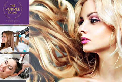 Salon premiere - Nourish your stressed out tresses with a Wash and Restyle with Deep Conditioning - Save 60%