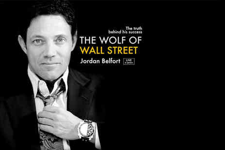 Success Resources - Ticket to The Wolf of Wall Street Jordan Belfort Live  - Save 23%
