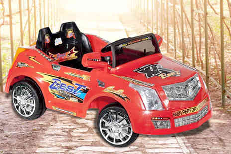 Ebuyer - Kids  Xenta electric ride on car  - Save 50%