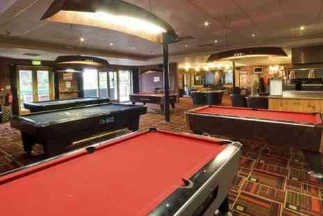 Cue Gardens - British Fare For Two With One Hour of Pool or Snooker - Save 35%