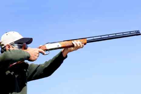 Sycamore Shooting Grounds - Rifle  or Clay Pigeon Shooting - Save 50%