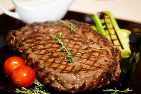 The Old Steps Bar - Two Course Steak Meal For Two - Save 64%