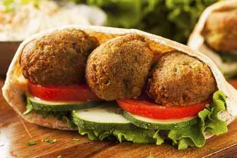 Falafelicious -  Wrap, Chips and Drink For One - Save 46%