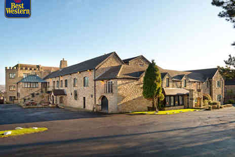 BEST WESTERN Derwent Manor Hotel - One Night Stay for Two People with Daily Full English Breakfast and Three Course Dinner - Save 54%