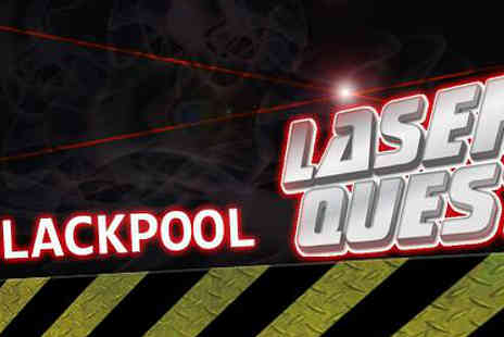 Laser Quest Blackpool - Three Games Of Great Entertainment for two - Save 54%