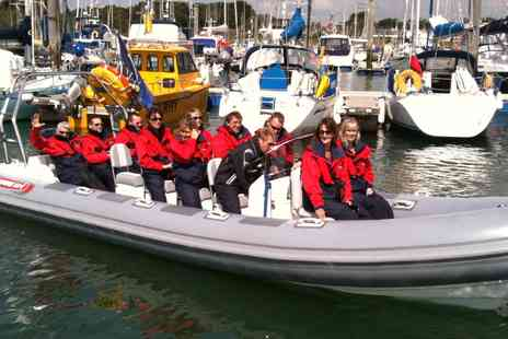 Coastal Pursuits - Solent and Isle of Wight Speedboat Day Tour  - Save 44%