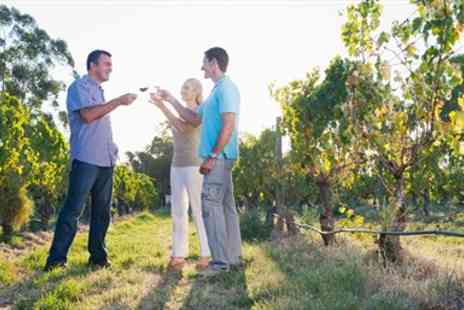 Carr Taylor -  Award-Winning Vineyard Tour, Lunch & Tastings for 2 - Save 63%