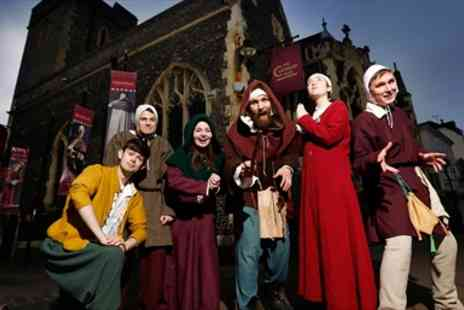 The Canterbury Tales -  Entry for 2 to The Canterbury Tales and a souvenir guidebook to share - Save 48%