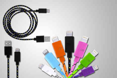 Links 4 - Braided 1m iPhone 5 USB cable! - Save 83%