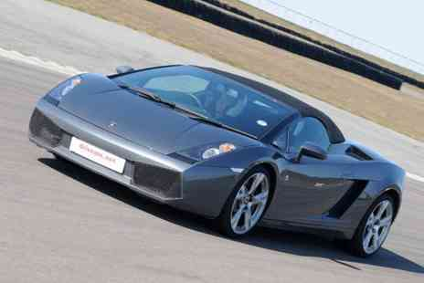 Drive Me - Junior or adult supercar experience with 1 car - Save 55%