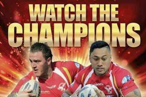 Sheffield Eagles RLFC - Sheffield Eagles v Workington Town Rugby Ticket With Hot Dog - Save 39%