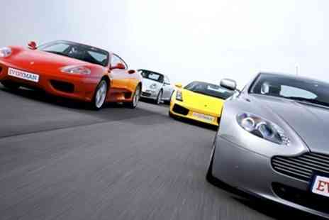 Everyman Racing - Supercar Passenger or Driving Experience - Save 50%