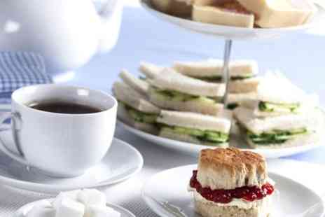The Royal Hotel Whitley Bay -  Afternoon Tea  With Prosecco - Save 50%