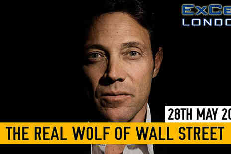 Success Resources - Tickets for Jordan Belfort live at the ExCel Centre - Save 23%