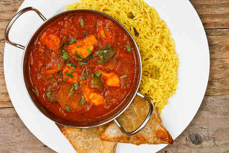 Bollywood Lounge - Two course Indian meal for 2 - Save 57%