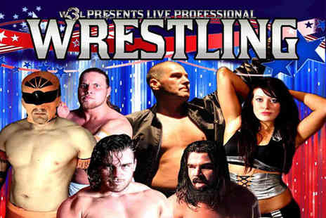 World Wide Wrestling League - Ticket to see the World Wide Wrestling League  - Save 54%