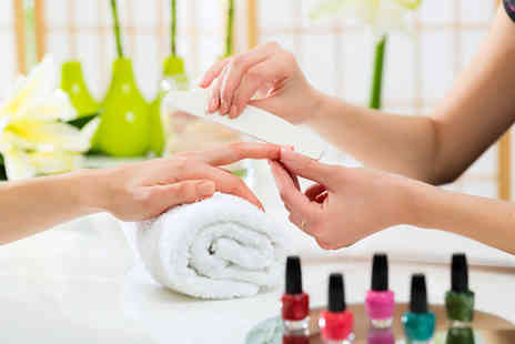 Fine Physique - Luxury manicure with a hand and arm massage  - Save 57%