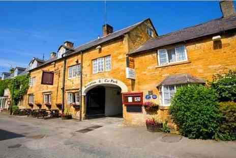 The Crown Hotel - One Night Stay For Two With Breakfast in Cotswolds - Save 45%