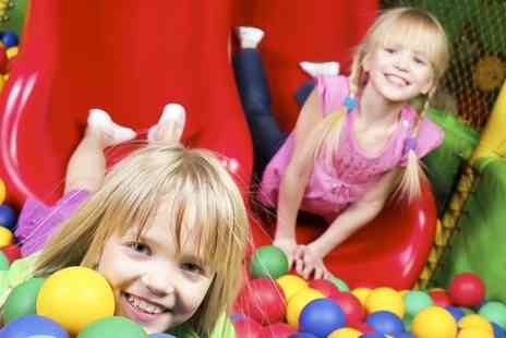 Partyman World of Play - Six Weeks Unlimited Family Entry - Save 55%