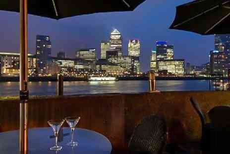 Hilton London Docklands Riverside Hotel - Champagne or Chocolate Afternoon Tea For Two  - Save 47%