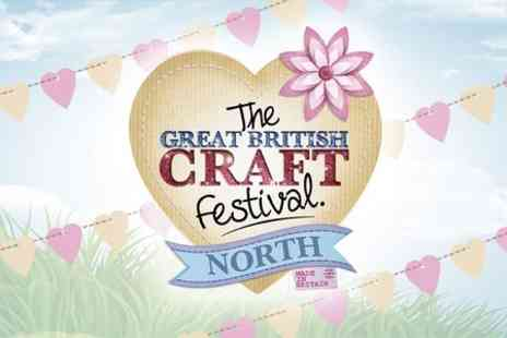 Great British Craft Festival - Two Tickets To The Workshop led by experts - Save 64%