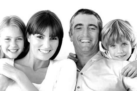 Bloom Photo Studio - Family or Couples Photoshoot With A4 Print - Save 89%