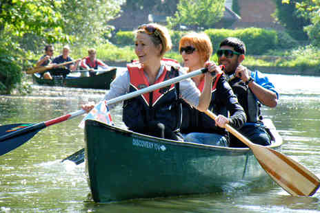 Back of Beyond Adventures - Thames Canoe Trip for 2 to Eel Pie Island - Save 58%