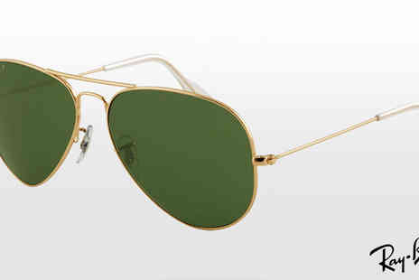 Discounted Sunglasses - Ray Ban Polarised Aviator Sunglasses - Save 53%