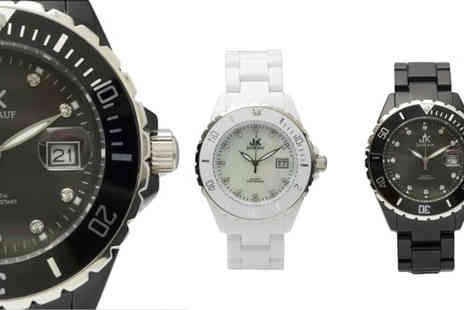 Jan Kauf - Choice of  Watches in either black or white - Save 79%
