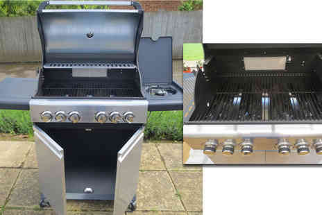 Limited Bisome - Gas BBQ with 6 Burners and Rotisserie - Save 68%