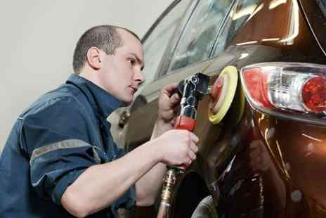 Peter Gibbs Car Body Repairs - Minor Scratch Repair With Polish and Touch Up - Save 50%