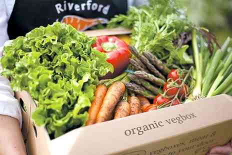 Riverford Organics Farms - Three Original Vegetable Boxes - Save 53%
