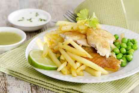 Fleur De Lis - Fish and Chips For Two - Save 55%