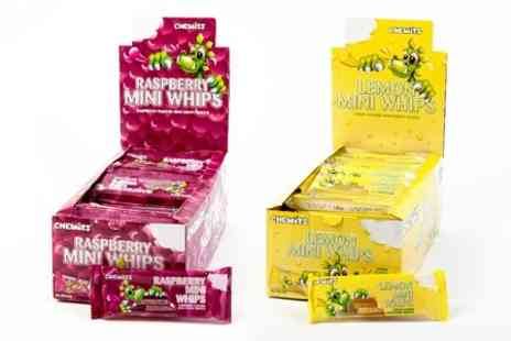 Polyverse - 72 Packs of Chewits Mini Whips in a Choice of Flavour - Save 50%