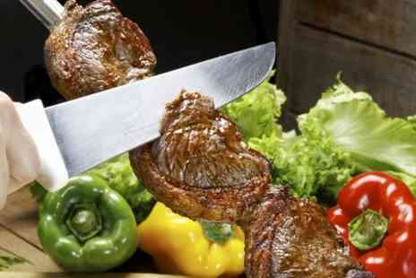 Tropical Restaurant - Brazilian Rodizio Grill With Cocktail Each - Save 38%