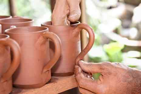 The Ceramic Experience - Clay Building Class With Refreshments - Save 50%