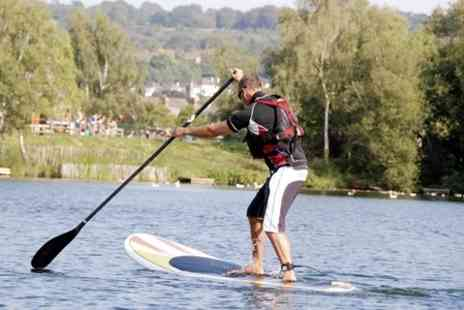 Devon Windsurf & Canoe Centre - Paddleboarding Session   - Save 56%
