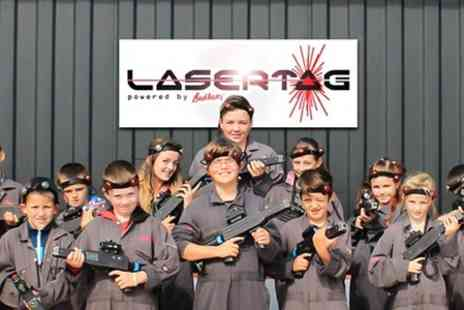 Bedlam Paintball - One Hour Laser Tag Experience - Save 65%