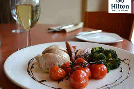 The Quays Restaurant  - Hilton A La Carte Starter and Main Dish Each - Save 52%