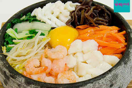 Wokooshii - Eleven Course Japanese and Korean Taster Menu for Two - Save 50%