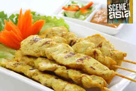 Scene Asia - All You Can Eat Indian Buffet for Two - Save 37%