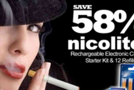 Nicolites - Enjoy a healthier, smoke free new year with an electronic cigarette - Save 58%