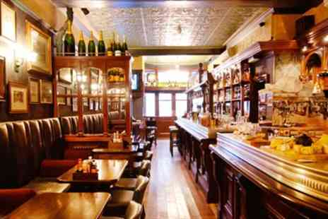 The Fox and Anchor - Good Pub Guide Favourite two Courses & Bubbly for two - Save 59%