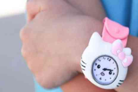 OneTouchTrade - Kids Kitty Slap Watch - Save 53%