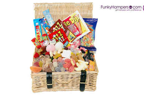 JUST THE SHOP - Retro Sweet Hamper - Save 52%