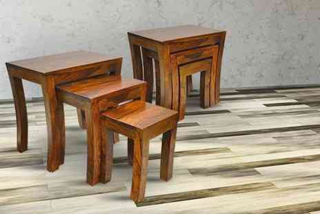 Furniture Deals - Nest of three Tuscany tables - Save 68%