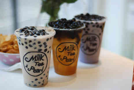 Milk Tea & Pearl - Two bubble teas - Save 50%