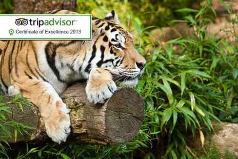 Paradise Wildlife Park - One child or adult ticketor  to Paradise Wildlife Park, Broxbourne - Save 50%