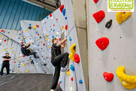 Evolution Extreme - Climbing and Bouldering or Sky Trail High Rope Course for Two - Save 52%